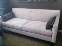 I have a beautiful cream colored couch for sale that