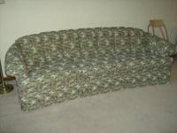 "Gorgeous Floral Print ""Charles Schneider"" Sofa in"
