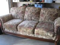 Full size sofa (this is not a sofa bed) Asking $375