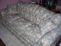 FOR SALE IS OUR LIVING ROOM SOFA. THIS SOFA HAS BEEN IN