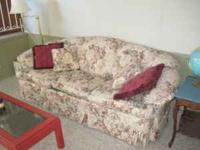 Cloth sofa in excellent condition. Clean. No smells.