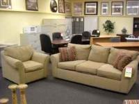Pompei sofa and chair for $299.99 please come into our