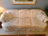 Matching Sofa/couch and chair. Good condition.