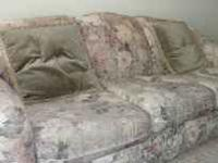 Beautiful sofa and chaise for sale. Moving, need to