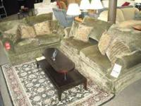 Traditional formal sofa and Loveseat from our Martini