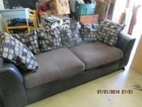 Decent living room furniture. Couch and loveseat $60.00