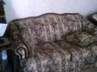Gently used sofa and loveseat. $200 for set. Call