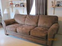 **** PRICE REDUCTION**** Chocolate color sofa and