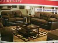 New American Furniture microfiber combo set Furniture