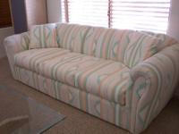 Southwestern print matching Sofa and Love Seat - each