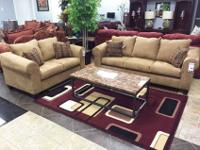 This light brown modern design set will provide an