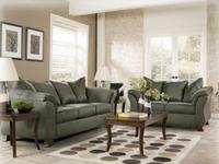 Microfiber sofa and loveseat. Brand new still in
