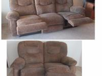 Type: Living Room Type: Sofas Sofa with 2 recliners