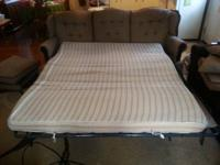 Offering a couch bed and chair. $100 for both.