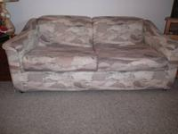 Sofa Bed made by Marshfield. This sofa makes out to a