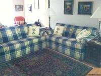 Sofa bed (7 ft. 3 in) and Love Seat (5 ft. 3 in.) in