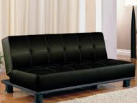 Item Description.  This stylish modern sofa bed will be