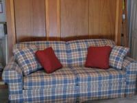 Must sell my fairly new Broyhill sofa. The sofa is