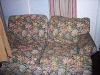 THis Is A Sofa Love Seat Made By Ethan