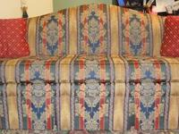 This sofa and love seat were originally purchased at