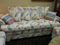 Sofa, Love Seat, Chair And Ottoman   $500 (60/40 Furniture.