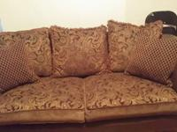 Truffle/Brown Sofa & Loveseat in Great Condition