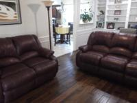 Beautiful reclining SOFA and LOVESEAT that does not