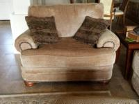 Type:Living RoomType:SofasLarge sofa and loveseat with