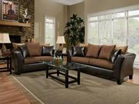 SOFA & LOVESEAT SEVERAL COLORS TO CHOOSE FROM  $549.00