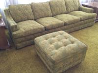 Custom made couch, 8 feet long. Very comfortable, clean