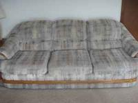 One 3-seat sofa: $85 One 2-seat sofa: $75 Very