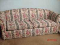 Sofa sleeper. Very sturdy and solid. Pulls out to make