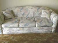 A good condition, comfortable sofa sleeper, getting new
