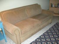 Selling this sofa sleeper for $50. Very good condition.