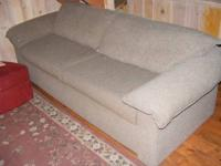 We have a nice, clean sofa sleeper, Queen size. It has