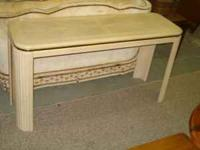 This is a nice sturdy sofa table in very good