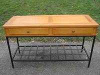 Beautiful Sofa Table with matchin End Table in great