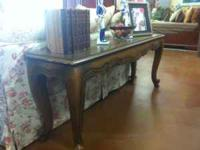 French style sofa table $259 Find us on facebook!