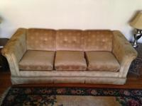 Sofa with fold out queen size bed. In good shape. This