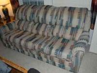 Great condition- sleeper sofa- full/queen size, Contact