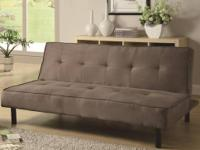 ITEM DESCRIPTION This sofa bed is a pretty and