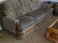 Super clean and in excellent shape! Sofa, loveseat,