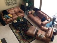 Type:Furniture FOR SALE... Two distressed leather
