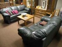 Sofas in various colors/styles, all in good condition.