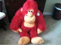 Have large 3 feet tall monkey. Extra large pillow pet