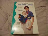 new in box baby soft infant carrier keep infant close