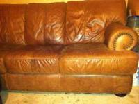 Leather Couch retails $1400+, Great condition, very