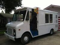 NICE shape! 1975 Chevy Step Van automatic, reg gas. Two