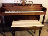 Type:PianosType:Sohmer PrimroseWell maintained piano.