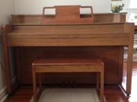 Good quality instrument, great beginner piano. Just